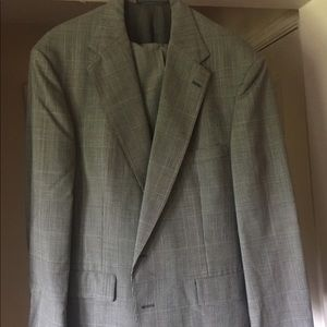 Men's Christian Brooks Suit Gray/black/pink